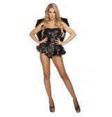 Roma Costume 1PC Dark Angel Costume
