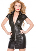 Allure Lingerie Faux Leather Dress