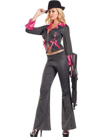 Be Wicked Pimpin' Pretty 2-Piece Costume