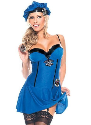 Be Wicked Mz. Naughty PD 3-Piece Costume