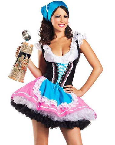 "Be Wicked Fairytale- ""Sexy Beer Girl"" Costume"