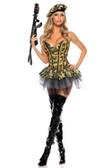 "Be Wicked Military- ""Commando"" Costume"