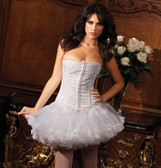 Be Wicked Floral Jacquard Elizabeth Corset