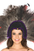 Be Wicked Feather Headdress BWH220