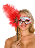 Be Wicked  Feather Mask BW33705