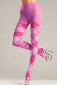 Be Wicked Bubblegum Argyle Tights