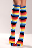 Be Wicked Rainbow Knee Highs