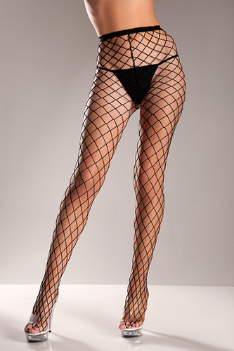 Be Wicked Fence Net Pantyhose