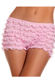 Be Wicked Stretch Ruffle Short - Light Pink