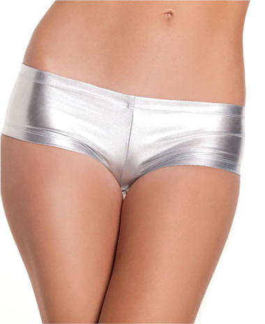 Be Wicked Booty Short - Silver