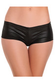 Be Wicked Cotton Lycra Booty Short - Black