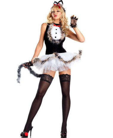"Be Wicked Animals- ""Kissable Kitty Kat"" Costume"