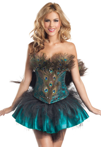 "Be Wicked Animals- ""Princess Peacock"" Costume"