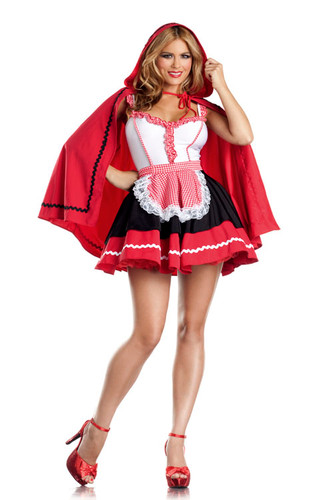 "Be Wicked Fairytale- ""Romantic Red Riding Hood"" Costume"