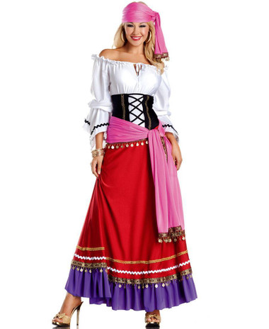 "Be Wicked Fairytale- ""Tempting Gypsy"" Costume"
