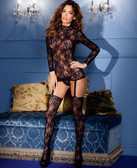 Be Wicked Lace Suspender Bodystocking