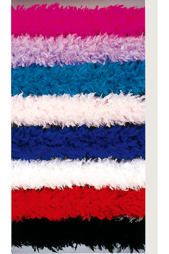 Be Wicked 150 Gram Chandelle Feather Boa (Solid Colors)