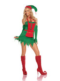 Elegant Moments 4Pc Holiday Helper Costume