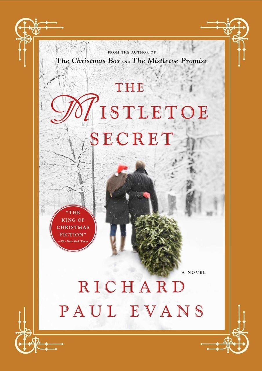 Richard Paul Evans Signed Book - Mistletoe Secret