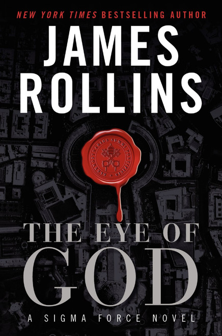 The Eye of God Autographed by James Rollins