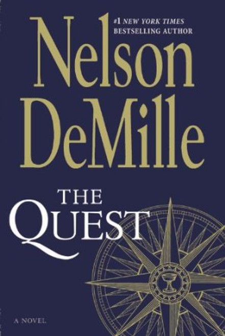 The Quest Autographed by Nelson DeMille