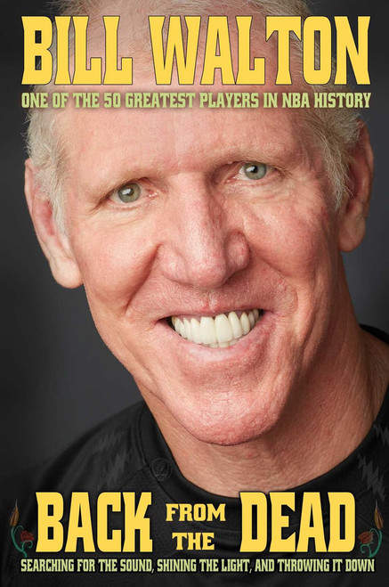 Bill Walton Signed Book Back From The Dead border=