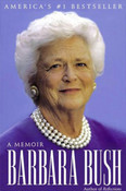 Autographed Book by Barbara Bush