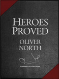 Col. Oliver North's Heroes Proved Collector's Leather Gift Box