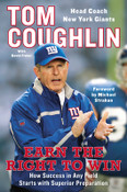Earn the Right to Win Autographed by Tom Coughlin