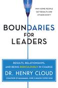 Boundaries for Leaders Autographed by Henry Cloud