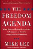 Freedom Agenda Autographed By Mike Lee