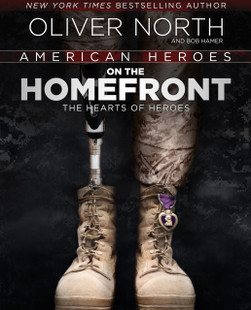 American Heroes: On the Homefront Autographed by Oliver North