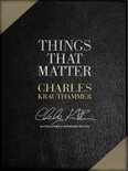 Deluxe Leather Collector's Box: Things That Matter
