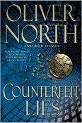 Counterfeit Lies Autographed by Oliver North
