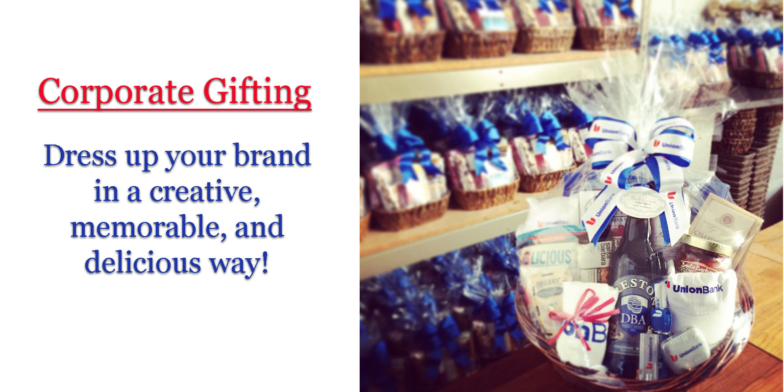 Corporate Gift Baskets Santa Barbara
