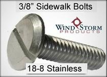 3/8 inch Sidewalk Bolt