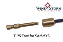 T25 Torx Driver for SAMMY Anchors