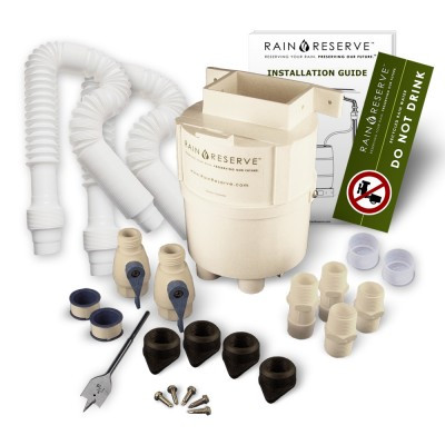 RainReserve Complete Diverter Kit (Double Capacity)