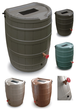 springsaver 50 gallon rain barrel