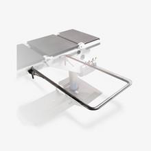 """HT- 3401 - Lightweight Arm & Hand Table - 16""""W x 30""""  Flat Bar"""