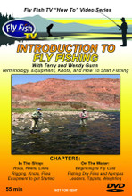 Intro to Fly Fishing - DVD Front Cover
