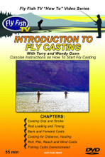 Intro to Fly Casting DVD - Front Cover