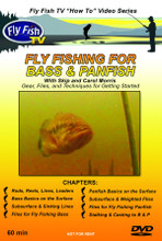 Fly Fishing for Bass & Panfish - DVD Cover Front