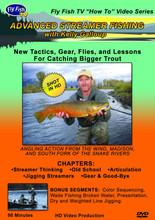 Advanced Streamer Fishing - DVD Front Cover