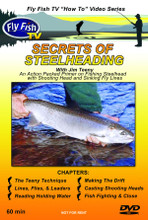 Secrets of Steelheading - DVD Front Cover