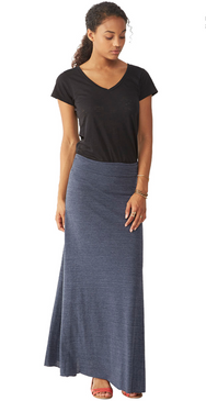 Alternative Apparel - Double Dare Skirt - Eco True Navy
