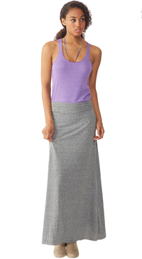 Alternative Apparel - Double Dare Skirt - Eco Grey