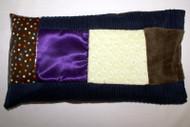 Multi Sensory Pillow with Buckwheat Insert