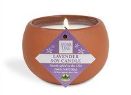 Classic Terracotta Soy Candle - Lavender 7.1 oz.
