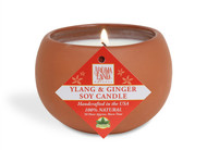 Classic Terracotta Soy Candle - Ylang & Ginger 7.1 oz.